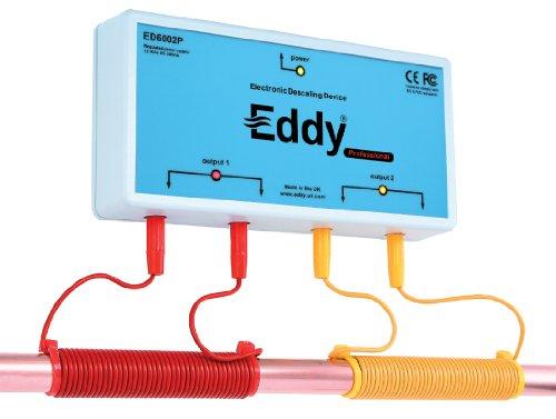 Eddy electronic water softener descaler