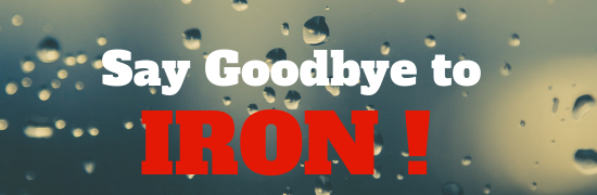 remove iron from water