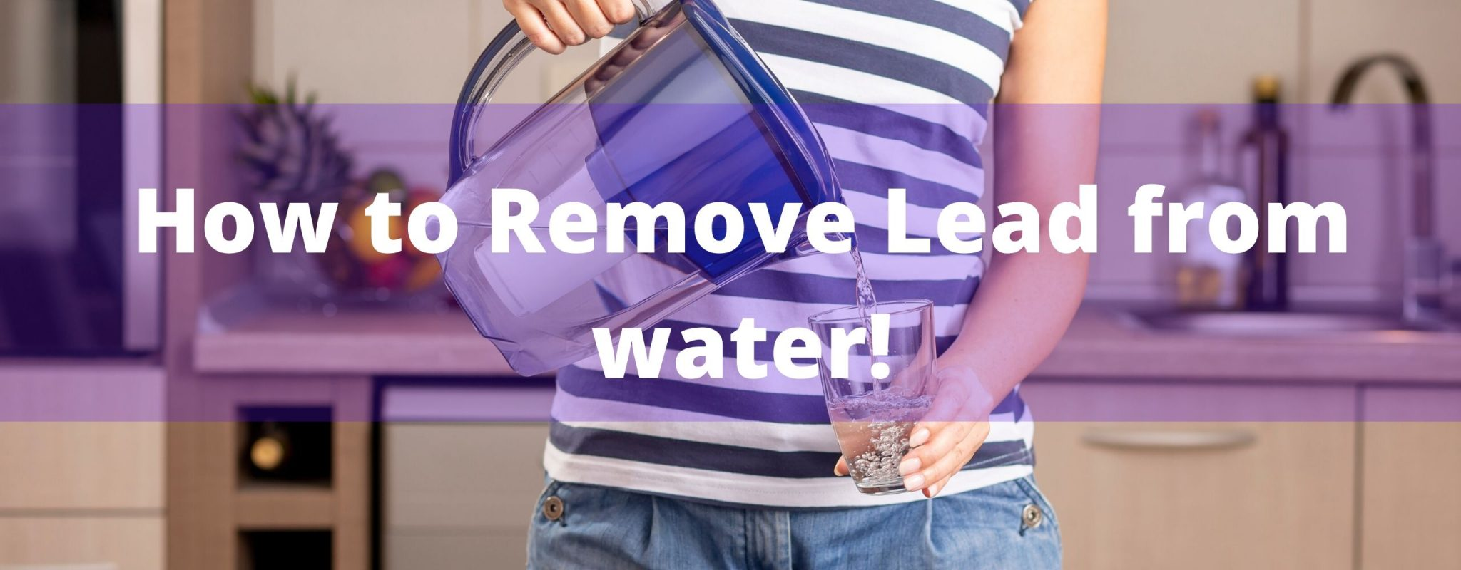 Remove lead from water