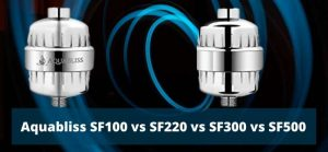 Aquabliss SF100 vs SF220 vs SF300 vs SF500